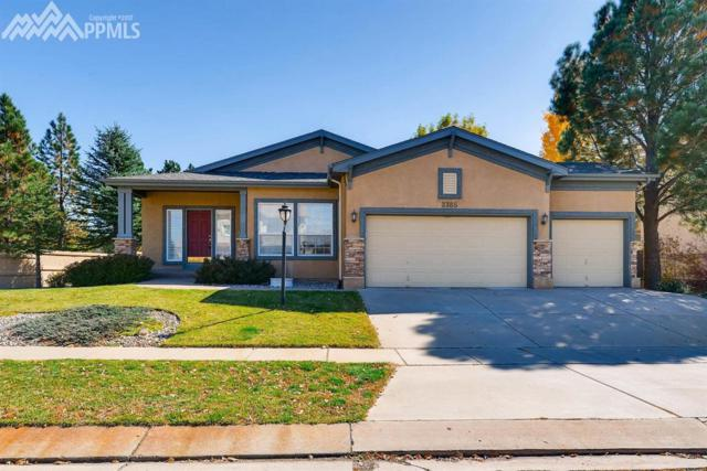 3385 Hollycrest Drive, Colorado Springs, CO 80920 (#4144564) :: Jason Daniels & Associates at RE/MAX Millennium