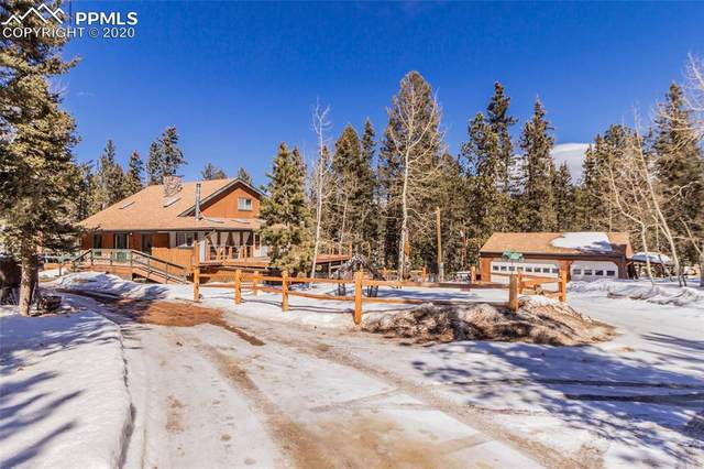 3106 Cedar Mountain Road, Divide, CO 80814 (#4159424) :: The Daniels Team