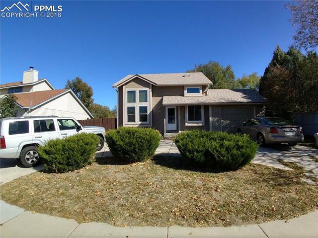 1005 Greenbrier Drive, Colorado Springs, CO 80916 (#4162934) :: The Treasure Davis Team