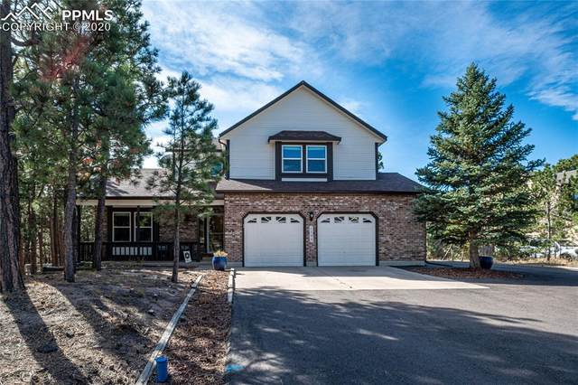 1195 Becky Drive, Colorado Springs, CO 80921 (#4165352) :: The Treasure Davis Team