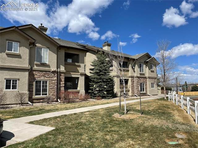 7064 Ash Creek Heights #102, Colorado Springs, CO 80922 (#4173231) :: Tommy Daly Home Team