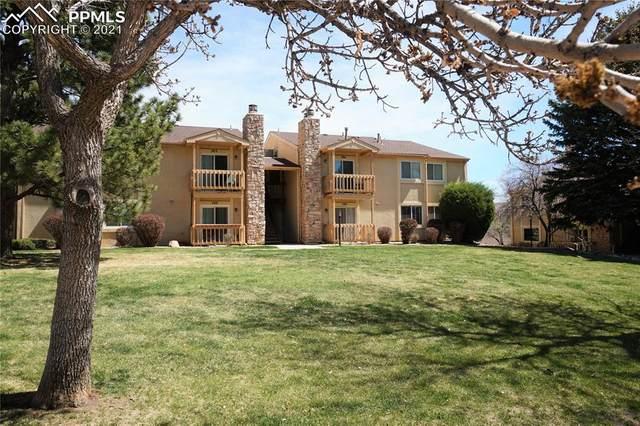 910 Tenderfoot Hill Road #104, Colorado Springs, CO 80906 (#4174138) :: The Artisan Group at Keller Williams Premier Realty
