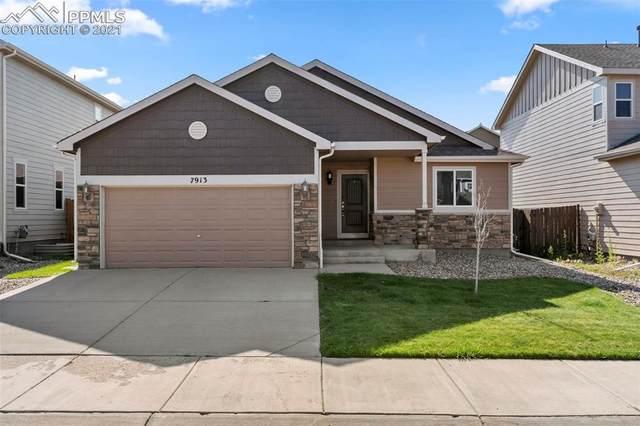 7913 Morton Drive, Fountain, CO 80817 (#4181569) :: Springs Home Team @ Keller Williams Partners