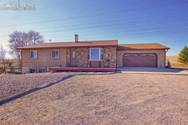 10805 Thunderhead Drive, Colorado Springs, CO 80925 (#4193027) :: The Kibler Group