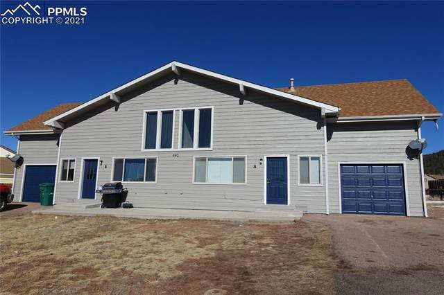 440 Forest Edge Circle A & B, Woodland Park, CO 80863 (#4198936) :: Hudson Stonegate Team