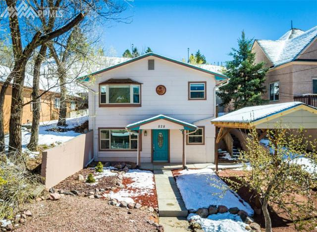 828 W Kiowa Street, Colorado Springs, CO 80905 (#4206980) :: Jason Daniels & Associates at RE/MAX Millennium