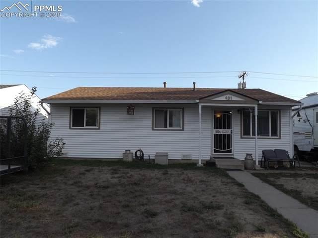409 Kiva Road, Colorado Springs, CO 80911 (#4211645) :: The Treasure Davis Team