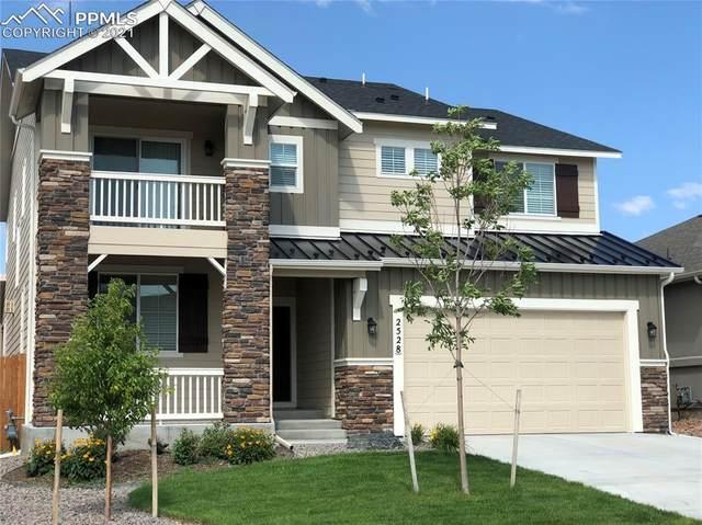 2528 Hannah Ridge Drive, Colorado Springs, CO 80922 (#4214793) :: The Daniels Team