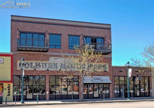 117 E Bijou Street #206, Colorado Springs, CO 80903 (#4249727) :: The Gold Medal Team with RE/MAX Properties, Inc