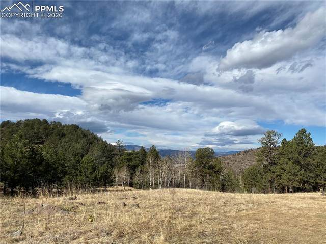 Lot 12 Spring Canyon Ranch Road, Cripple Creek, CO 80813 (#4251761) :: The Treasure Davis Team