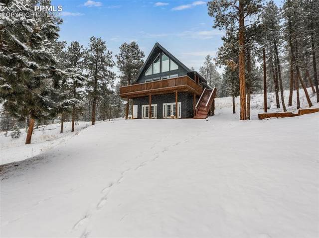 14891 Evergreen Place, Woodland Park, CO 80863 (#4258603) :: The Treasure Davis Team