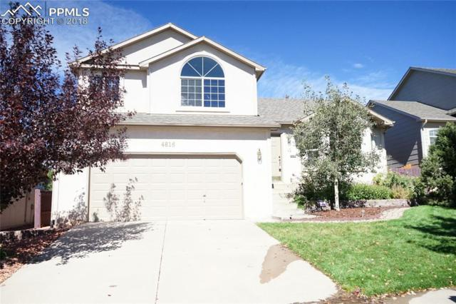 4816 Sand Hill Drive, Colorado Springs, CO 80923 (#4265004) :: Jason Daniels & Associates at RE/MAX Millennium