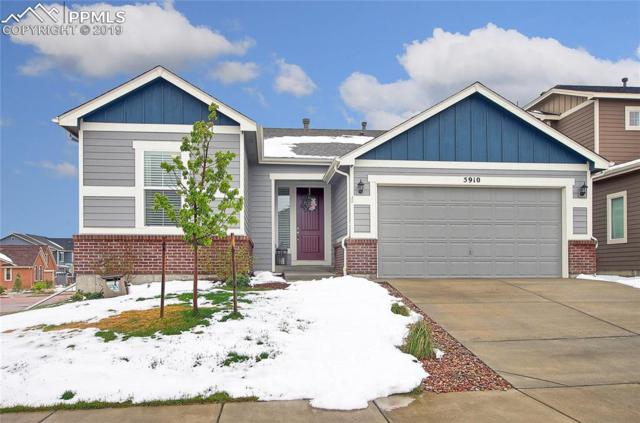 5910 Traditions Drive, Colorado Springs, CO 80924 (#4265359) :: The Hunstiger Team