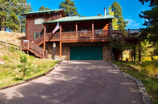 196 Glen Dale Drive, Woodland Park, CO 80863 (#4265832) :: Tommy Daly Home Team