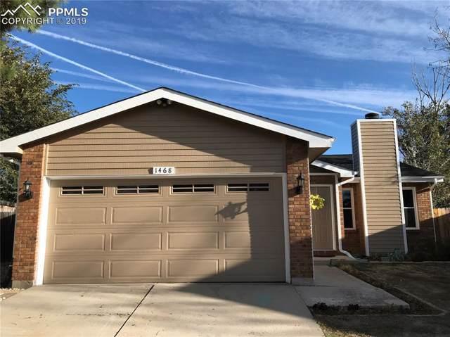 1468 Sausalito Drive, Colorado Springs, CO 80907 (#4281107) :: Action Team Realty