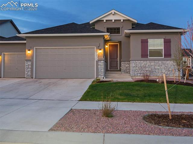 7433 Lewis Clark Trail, Colorado Springs, CO 80927 (#4291543) :: Tommy Daly Home Team