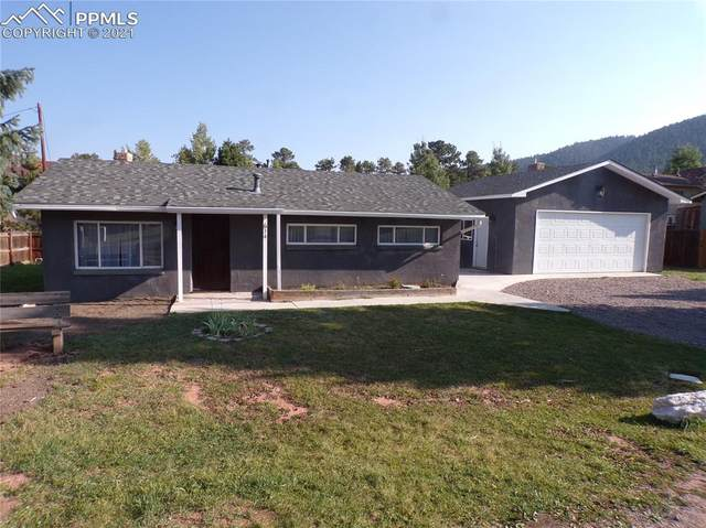 614 N Park Drive, Woodland Park, CO 80863 (#4308333) :: The Gold Medal Team with RE/MAX Properties, Inc