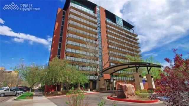 417 E Kiowa Street #1204, Colorado Springs, CO 80903 (#4318187) :: The Hunstiger Team