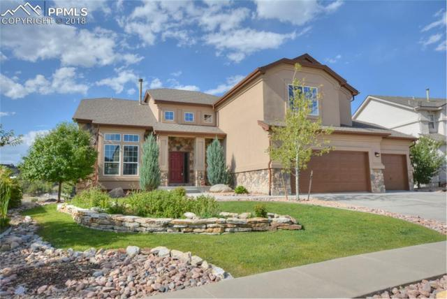 668 Coyote Willow Drive, Colorado Springs, CO 80921 (#4327941) :: The Kibler Group