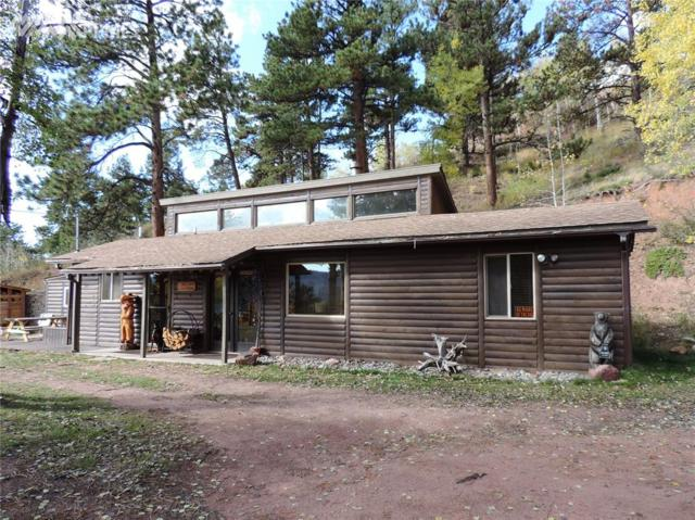 1030 W Highway 24 Highway, Woodland Park, CO 80863 (#4372259) :: The Treasure Davis Team