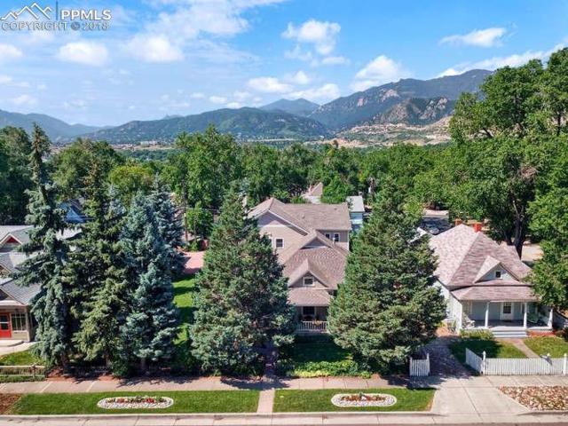 2327 W Kiowa Street, Colorado Springs, CO 80904 (#4394670) :: The Hunstiger Team