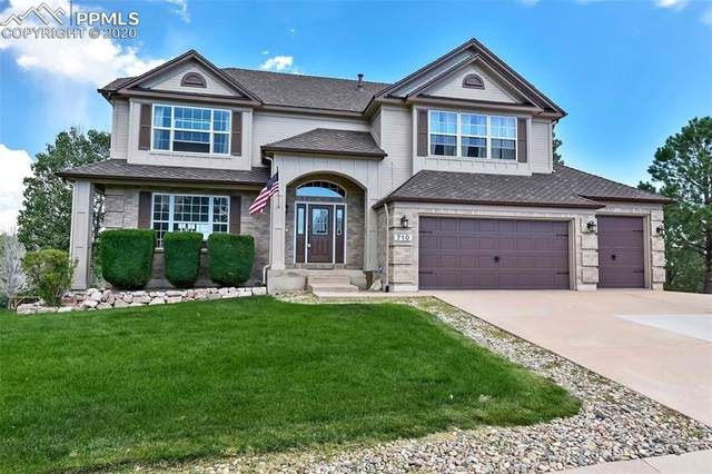 710 Yardglen Court, Colorado Springs, CO 80906 (#4404685) :: Finch & Gable Real Estate Co.