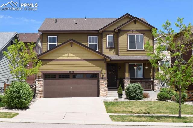6709 Maple Stone Lane, Colorado Springs, CO 80927 (#4418163) :: The Daniels Team