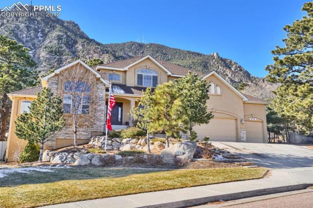 615 Paisley Drive, Colorado Springs, CO 80906 (#4426323) :: The Kibler Group
