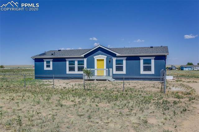 2205 E Ellicott Road, Calhan, CO 80808 (#4428689) :: Tommy Daly Home Team