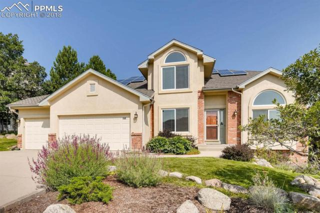 160 Ravenglass Way, Colorado Springs, CO 80906 (#4431955) :: The Hunstiger Team