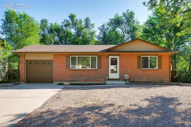 819 Holmes Drive, Colorado Springs, CO 80909 (#4459200) :: 8z Real Estate
