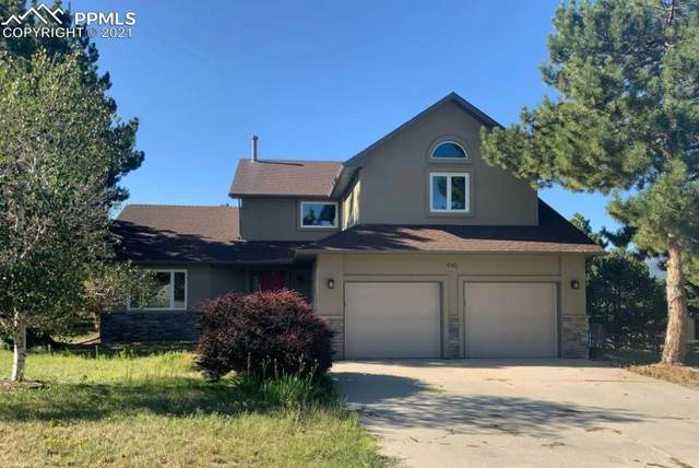 445 Rangely Drive, Colorado Springs, CO 80921 (#4467713) :: The Treasure Davis Team | eXp Realty