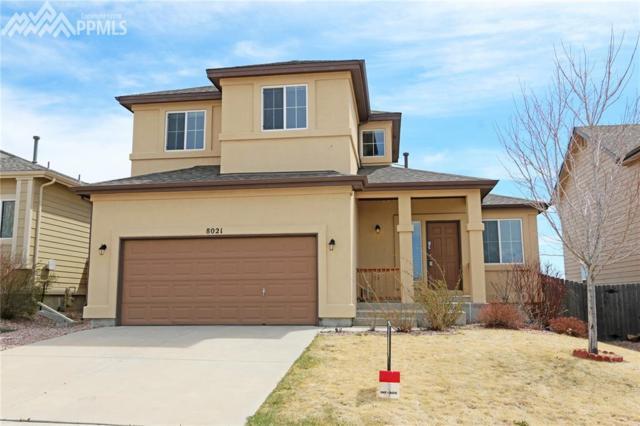 8021 Kettle Drum Street, Colorado Springs, CO 80922 (#4493197) :: The Treasure Davis Team