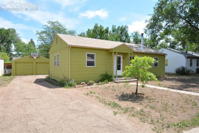 2022 S Corona Avenue, Colorado Springs, CO 80905 (#4497937) :: The Hunstiger Team