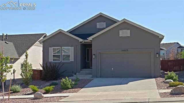 10863 Warm Sunshine Drive, Colorado Springs, CO 80908 (#4505014) :: The Treasure Davis Team