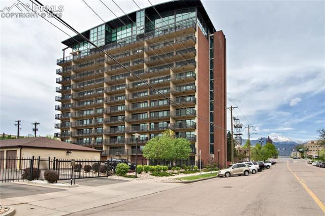 417 E Kiowa Street #1001, Colorado Springs, CO 80903 (#4519949) :: The Peak Properties Group