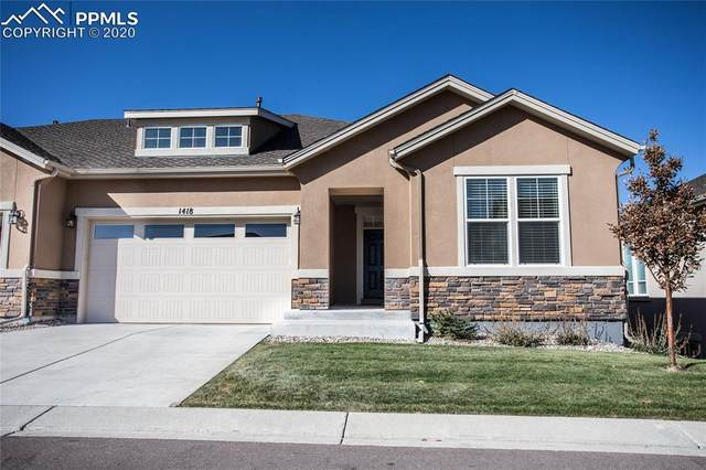 1418 Promontory Bluff View, Colorado Springs, CO 80921 (#4522151) :: Finch & Gable Real Estate Co.