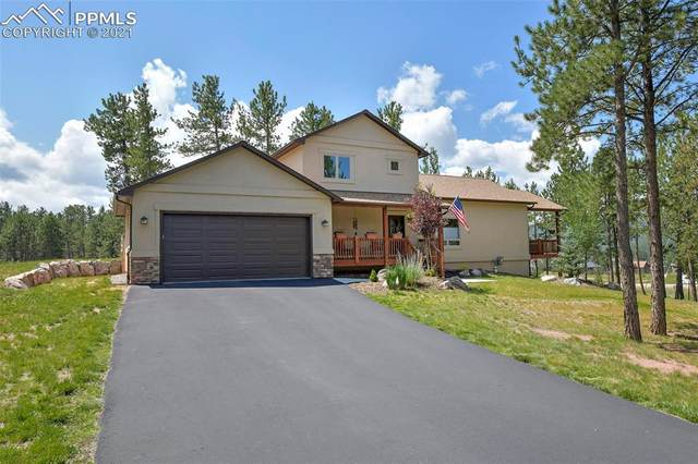 410 Fairfield Lane, Woodland Park, CO 80863 (#4535498) :: Tommy Daly Home Team