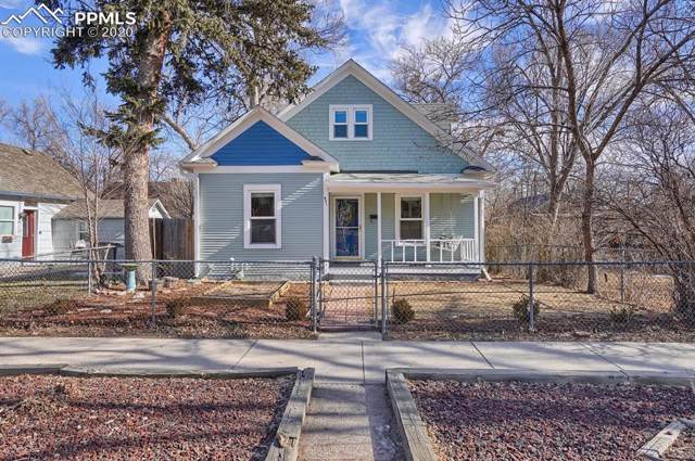 421 N Spruce Street, Colorado Springs, CO 80905 (#4549544) :: Jason Daniels & Associates at RE/MAX Millennium