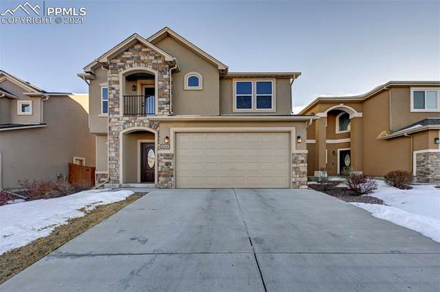 4343 Desert Canyon Trail, Colorado Springs, CO 80922 (#4552675) :: HomeSmart