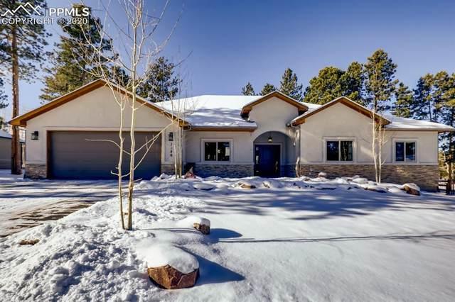 1186 Ptarmigan Drive, Woodland Park, CO 80863 (#4574542) :: Venterra Real Estate LLC