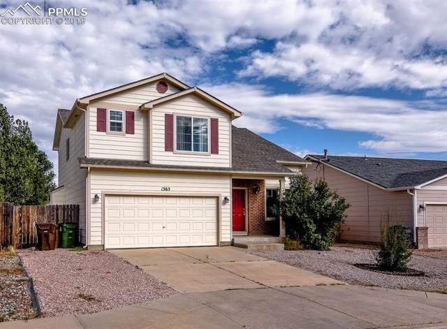 1365 Legend Oak Drive, Fountain, CO 80817 (#4586020) :: The Peak Properties Group