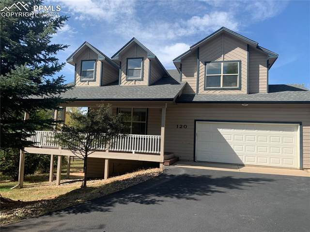 120 Red Clover Court, Woodland Park, CO 80863 (#4588499) :: The Gold Medal Team with RE/MAX Properties, Inc