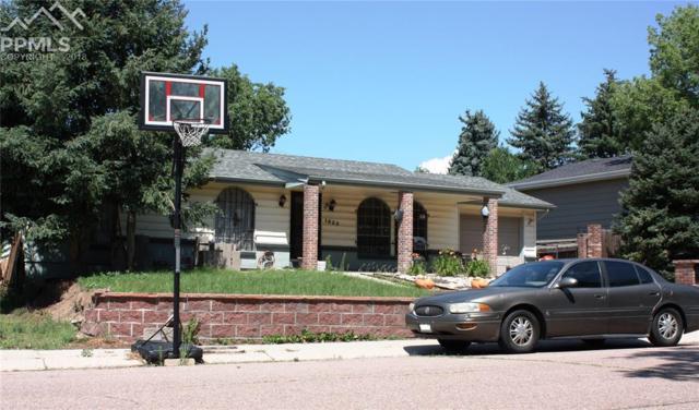 1022 Turley Drive, Colorado Springs, CO 80915 (#4615999) :: The Peak Properties Group