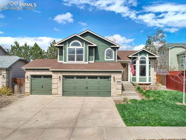 3265 Pony Tracks Drive, Colorado Springs, CO 80922 (#4623957) :: HomeSmart