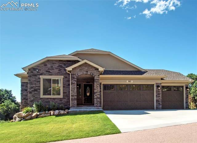 583 Mountain Pass View, Colorado Springs, CO 80906 (#4628264) :: Finch & Gable Real Estate Co.