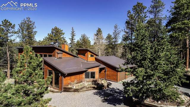 220 Morning Sun Drive, Woodland Park, CO 80863 (#4639249) :: Tommy Daly Home Team