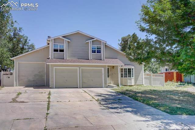 157 Hoedown Circle, Fountain, CO 80817 (#4639847) :: Tommy Daly Home Team