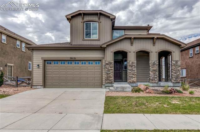 7015 Jagged Rock Circle, Colorado Springs, CO 80927 (#4646074) :: Tommy Daly Home Team