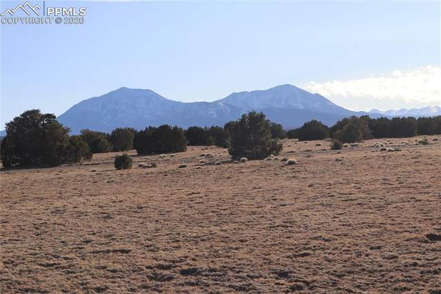 Lot 120 Bear Ridge Road, Walsenburg, CO 81089 (#4646776) :: The Kibler Group